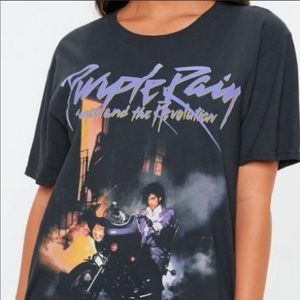 Prince purple rain tshirt
